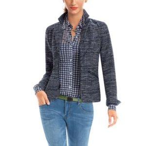 CAbi Mingle Jacket Blazer Tweed Sz 10